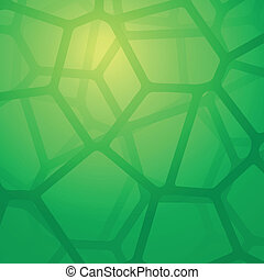 Abstract Background With Cells. Vector