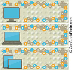 Chemistry Pattern - Seamless pattern of chemical reactions...