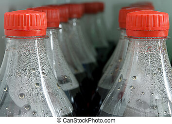 bottles of cola