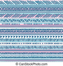 Tribal vintage ethnic pattern seamless illustration for your...