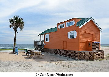 Cabin on the Beach