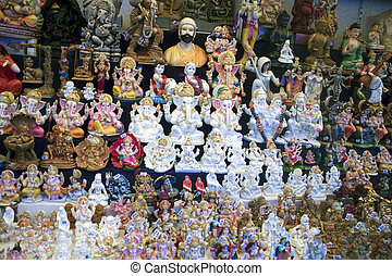 Statuettes of hindu deity Ganesh for sale