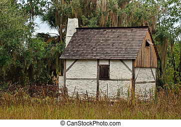 Scot Highlander House - A historical replica of a Scot...