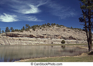 Geronimos Hideout, Wall Lake - Follow New Mexicos Geronimo...
