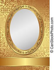 golden background - vintage golden background decorativel...