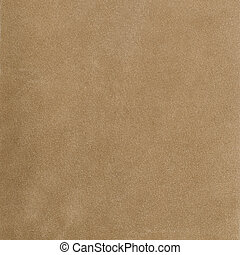 Beige leather - Closeup of beige leather texture background.