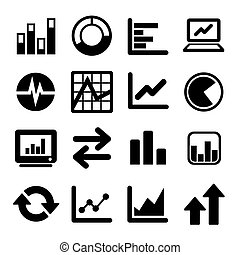 Business Infographic icons set  - Vector Graphics