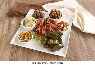 Mezze Platter - Delicious freshly prepared mezze platter...