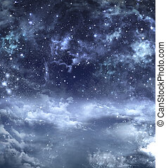 beautiful background, night sky - beautiful background of...