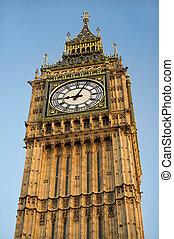 Big Ben Clock Tower - most famous symbol of London, Big Ben...
