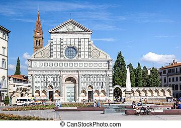 Santa Maria Novella Florence Italy - An image of Santa Maria...