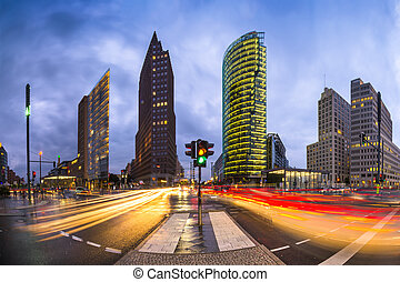 Potsdamer Platz, Berlin - Potsdamer Platz is the financial...