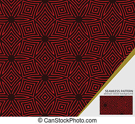Vector geometric seamless pattern for your design - Vector...