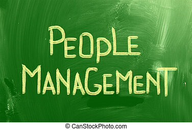 People Management Concept