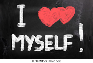 yo, amor, Myself, concepto
