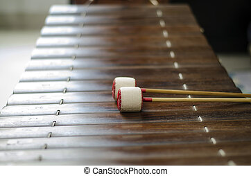 thai alto xylophone - thai alto xyolphone asia music of...