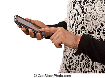 Texting, browsing or calling on mobile phone