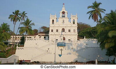 Old colonial church - Church in colonial baroque style