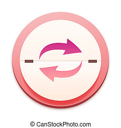 ピンク, 300, シリーズ, 上に, アイコン,  selectable, そっくりそのまま