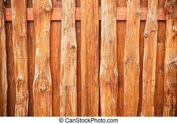 Wood fence slats for background