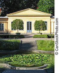 Linne's house in Uppsala (Sweden)
