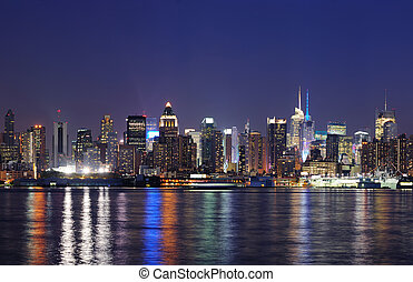New York City midtown Manhattan - New York City Manhattan...
