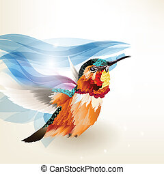 Abstract beautiful vector backgroun - Vector illustration...