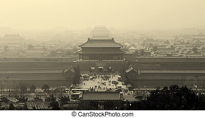 Forbidden City - Historical architecture in Forbidden City...