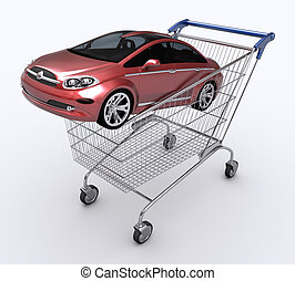 Gift Car - Buying a car as a gift.