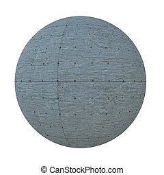 Ball of cement