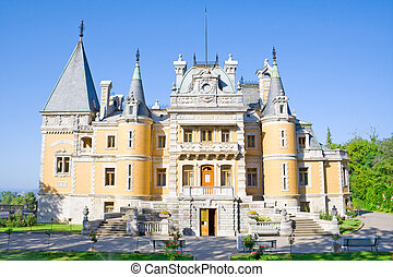 old palace in Ukraine (king Alexander\'s I)