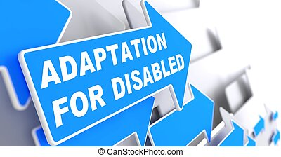 Adaptation for Disabled on Blue Arrow - Adaptation for...
