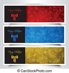 Christmas bow backgrounds