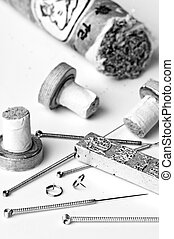 acupuncture needles and moxibustion tools