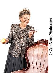 60th birdsday for grandma - An elderly woman has to make a...
