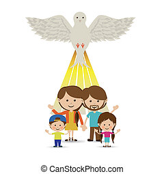 holy design - holy design over white background vector...