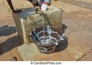water - fountain in Africa