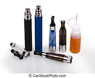 Electronic cigarette e-cigarette - big electronic cigarettes...