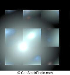 Abstract background. Gray - white palette. Raster fractal...
