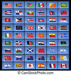 Flags of the World - A collection of national flags from...