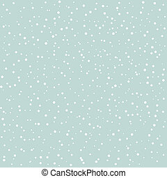 Snow goes in the sky A vector illustration