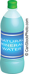 Water Bottle - Natural Mineral Water