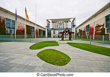 Federal Chancellery, Berlin, Germany - Federal Chancellery...