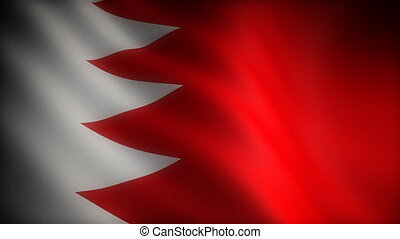 Flag of Bahrain seamless