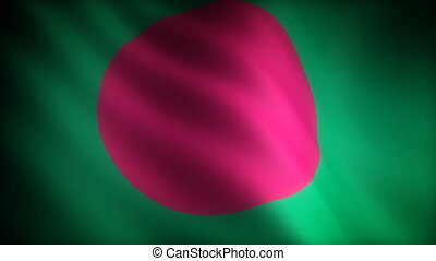 Flag of Bangladesh seamless