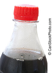 bottle with cola