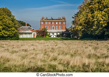 Bushy House, Autumn, London, England - Bushy House, Bushy...