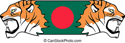 Flag bangladesh - Creative design of icon flag bangladesh