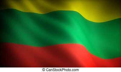 Flag of Lithuania seamless