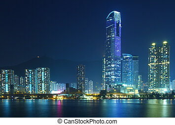 Urban landscape in Hong Kong